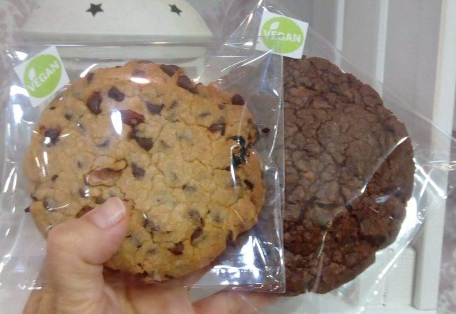 Cookies de fruits secs veganes